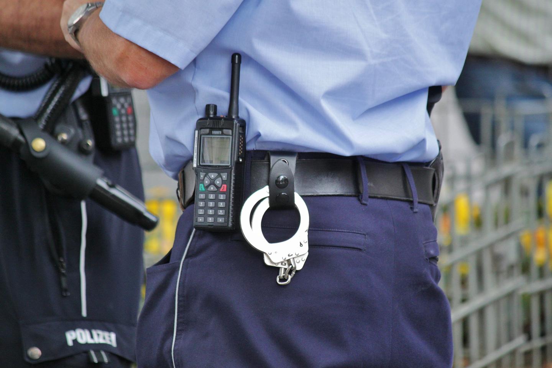 Einsatz bei der Polizei