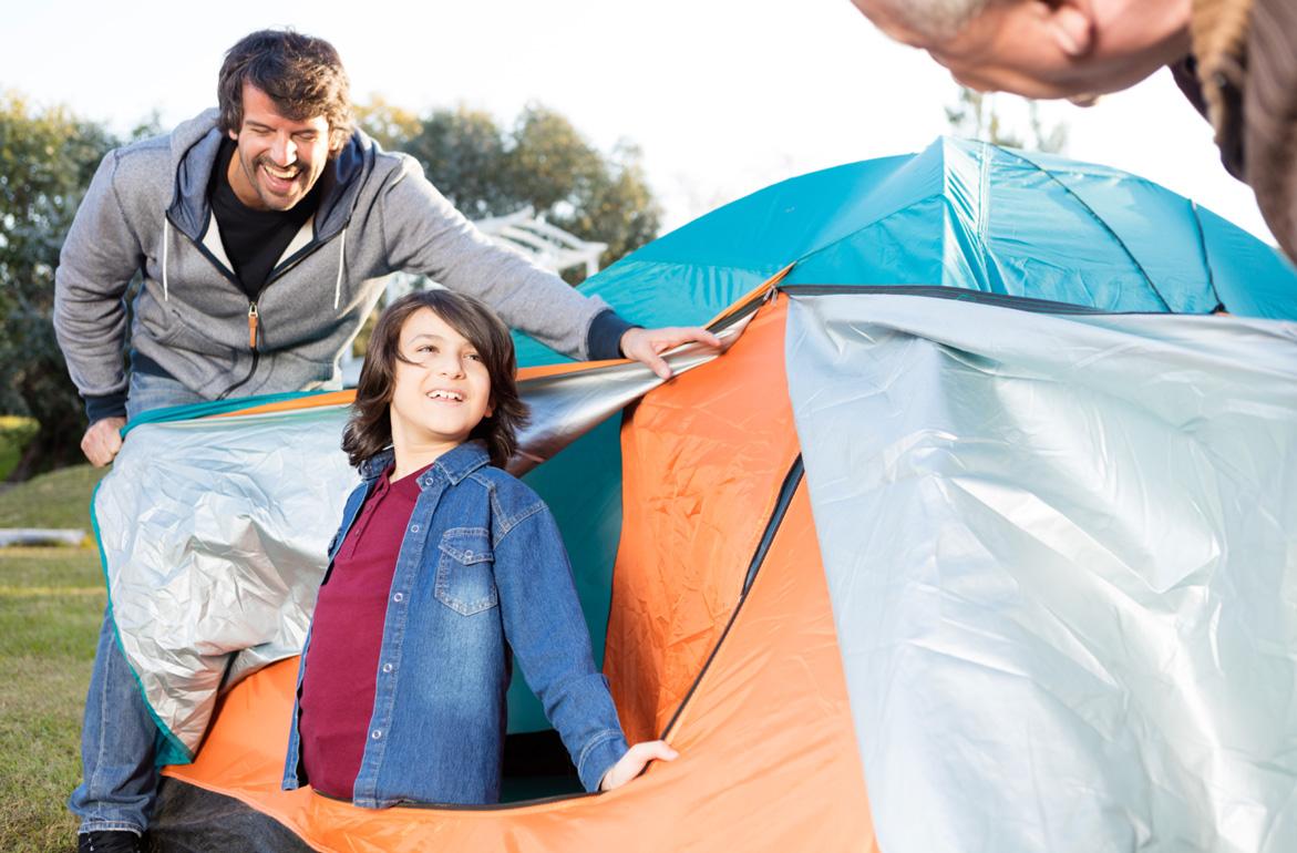 Vater-Kind-Zelten